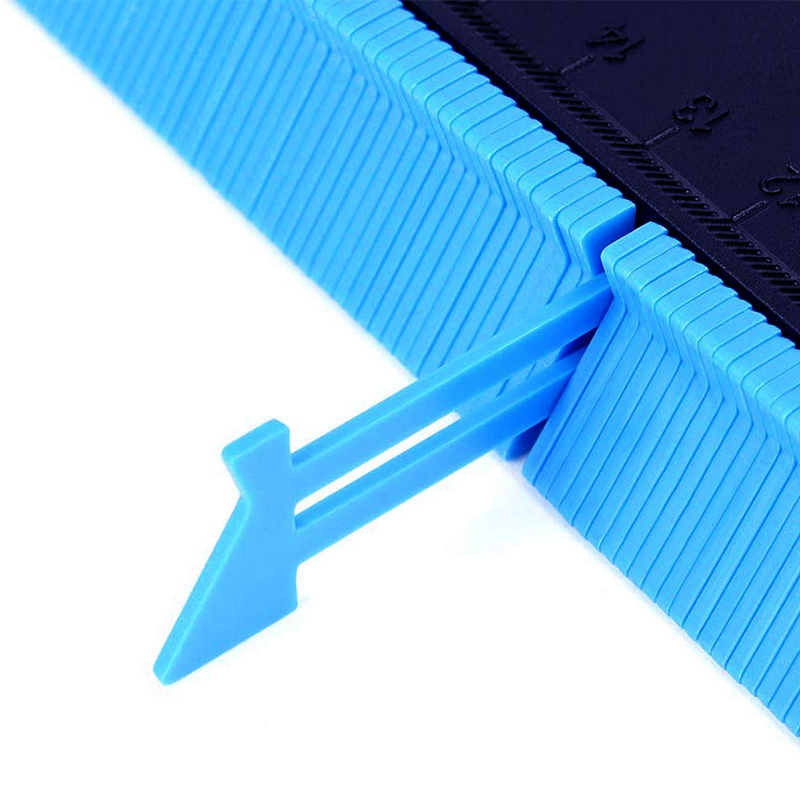 Master Outline Gauge Tool for Odd Shapes 5 inch Contour Duplication Gauge for Specific Hard to Figure Out Cuts