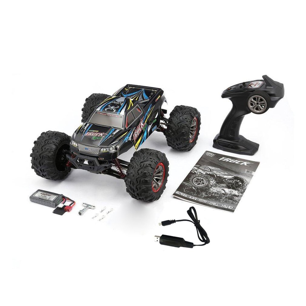 High Quality 9125 4WD 1/10 High Speed 46km/h Electric Supersonic Truck Off-Road Vehicle Buggy RC Racing <font><b>Car</b></font> <font><b>Electronic</b></font> <font><b>Toys</b></font> RTR image