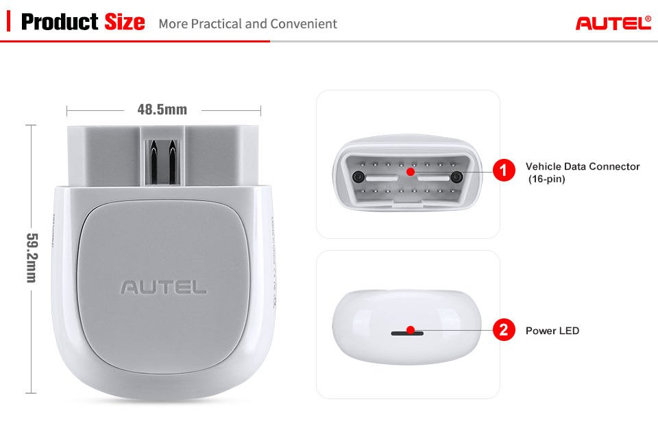 Image 5 - Autel AP200 Bluetooth OBD2 Scanner Code Reader Full System Diagnostic Tool AutoVIN EPB BMS SAS TPMS DPF IMMO PK MaxiCOM MK808