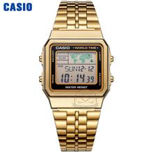 цена на Casio watch gold watch men set brand luxury LED digital Waterproof Quartz men watch Sport military Wrist Watch relogio masculino