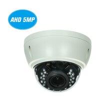 5MP AHD IR Dome CCTV Analog Camera 2.8 12mm 4X Optical Manual Zoom Internal Focusing Lens Explosion proof Support IR CUT