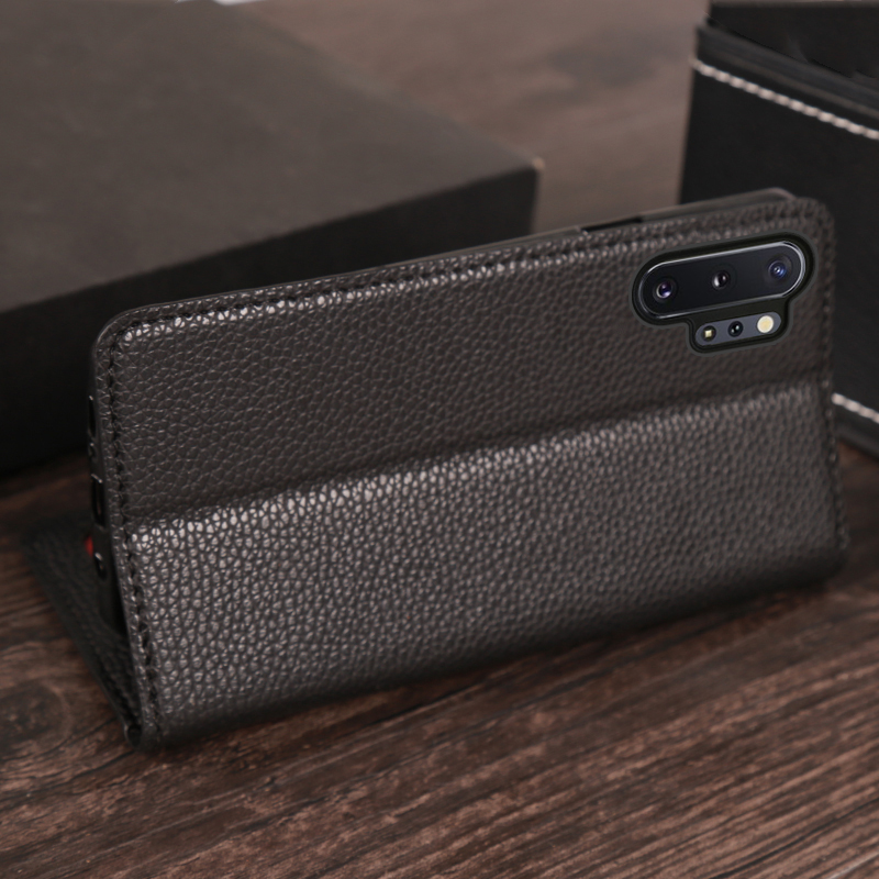 Flip Phone Case For Samsung S6 S7 S8 S9 S10 Note 8 9 10 Plus PU Litchi texture Phone Case For A30 A40 A50 A70 A5 A7 J7 A8 2018