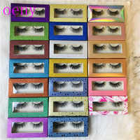 Private Label Mink Lashes Premium 3D Mink Lashes Packaging Cheap Paper Custom Eyelash Box