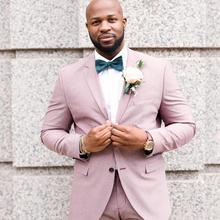 Смокинги для жениха костюм жениха Лучший мужской костюм свадебный мужской блейзер костюмы на заказ(куртка+ брюки