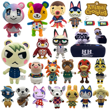 2020 Anima Crossing Plush toy New Horizons Game Anima Crossing Amiib marshal Plush toy Doll Gifts for children NFC Plush toy