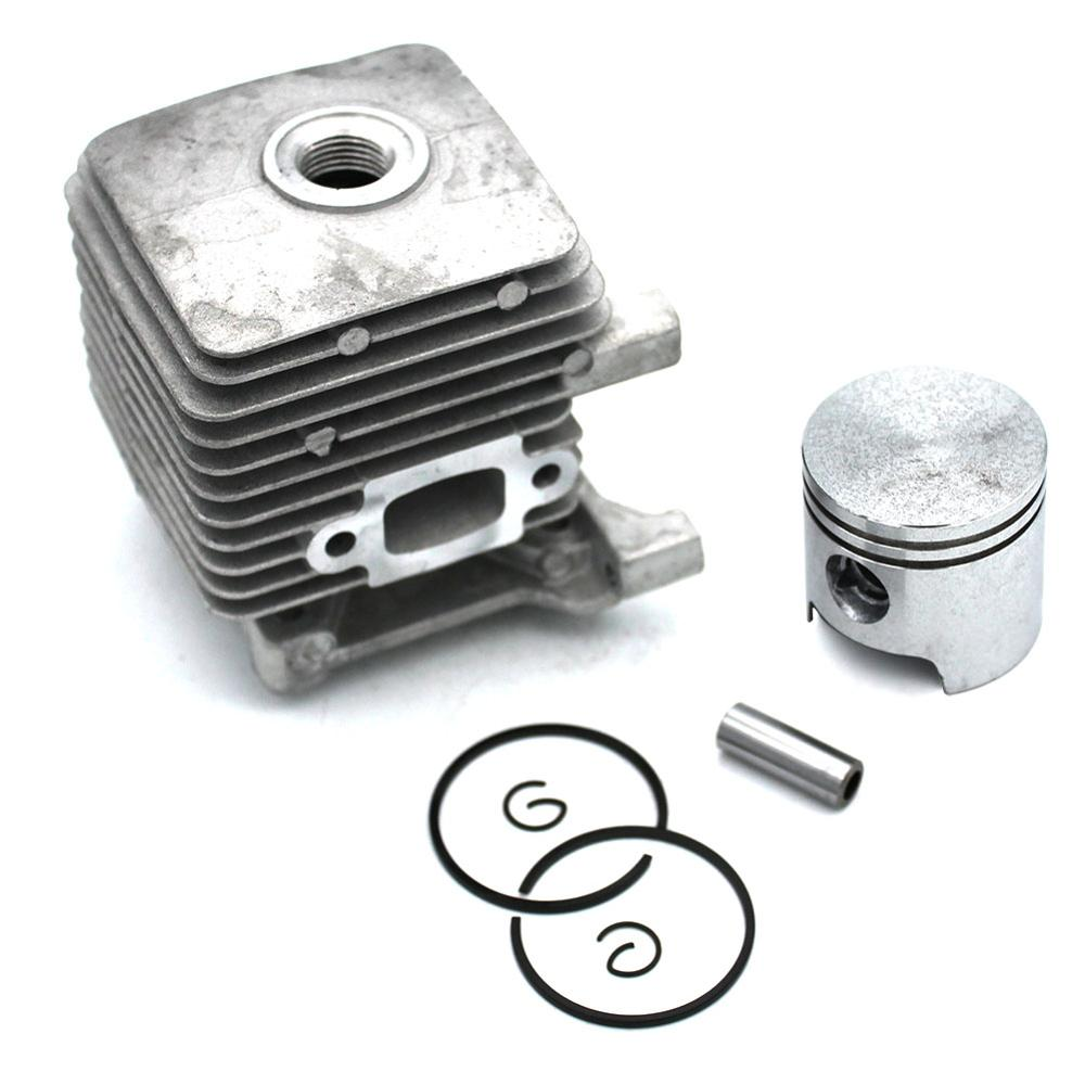 34MM Cylinder Piston Kit For <font><b>Stihl</b></font> <font><b>FS38</b></font> FS45 FS46 FS55 HL45 FC55 BT55 KM55 MM55 SH85 <font><b>Parts</b></font> # 4140 020 1204 image