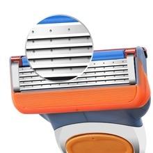 4pcs/lot 5 Layer Blades Shaving Razor Blades for MenPower Shaver Blades Proglide Shaving Blades Replacem цена