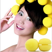 6pcs /set Hot Sale Magic Sponge Hair Rollers Soft Foam Curling Ball DIY Women Tool