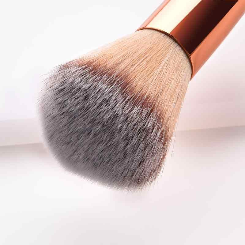 1 Pcs Doppia Testa Spazzole di Trucco Per La Prodotti di base In Polvere Blush, fard ConcealerMake Up Brush Cosmetici di Bellezza TSLM1