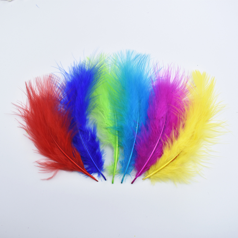 Black Marabou Turkey Feathers Pheasant White Feathers for Crafts Feathers for Clothes Carnaval Assesoires Plumas Craft Feathers