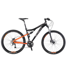 Mountain bike Full suspension bike mountain bike Downhill Mountain bike men for Adult 27 5 Downhill bike Bicycle full suspension cheap SAVA Aluminum Alloy Unisex 27 Speed 14kg 160kg 15kg Oil and Gas Fork (Air Resilience Oil Damping) Double Disc Brake 160-180cm