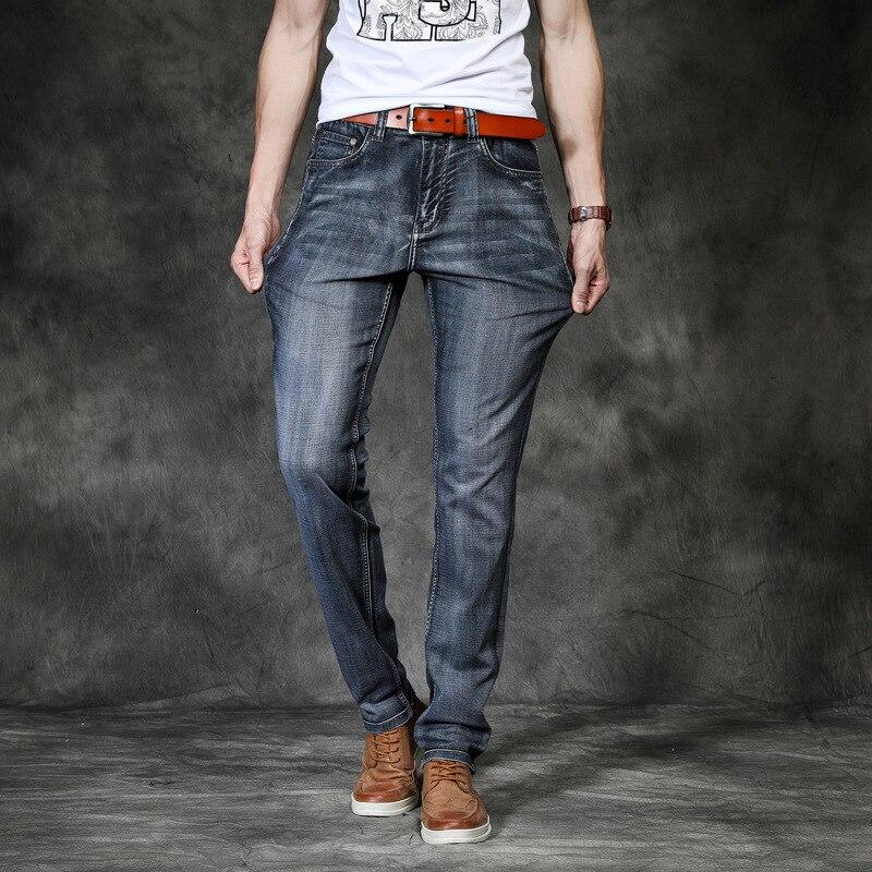 Men Stretchy Denim Skinny Jeans 2019 Spring Autumn Brand Classic High Quality Fashion Jeans