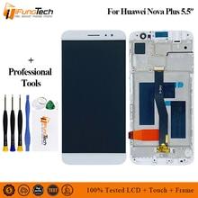 цена на Black/White/Gold For Huawei Nova Plus TD-LTE MLA-L11 MLA-L02 MLA-L12 LCD Display + Touch Screen Digitizer Assembly Replacement