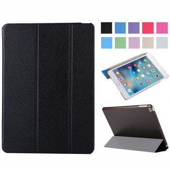 Magnetic Smart Cover For iPad 7 7th 2019 Generation Ultra Slim PU Leather Case + Hard PC Back Case For Apple iPad 10.2 inch for ipad pro 9 7 inch ultra slim smart cover leather case with matte translucent back case for apple ipad pro no iprs4