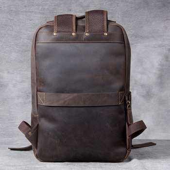 Modern Vintage Leather Backpack 1