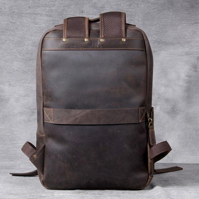 Modern Vintage Leather Backpack 1