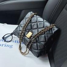Роскошная женская сумка через плечо Новинка осени 2020 модная