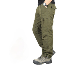 Cargo Pants Trousers Combat Military Army Tactical Multi-Pockets Winter Men's Cotton