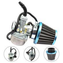 Motorcycle Carburetor 125cc PZ19 50cc-70-90 Choke Dirt-Bike Go-Kart W/AIR-FILTER ATV
