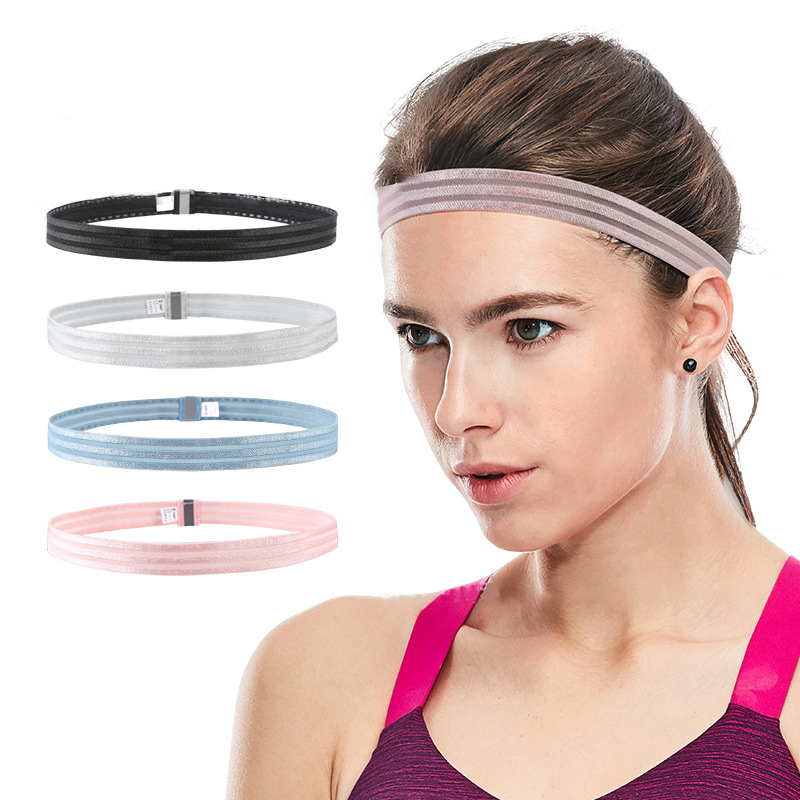 Headband Male Sports Sweat Guide Running Hair Band Protection Forehead Sweating Wicking Female Headscarf Fitness