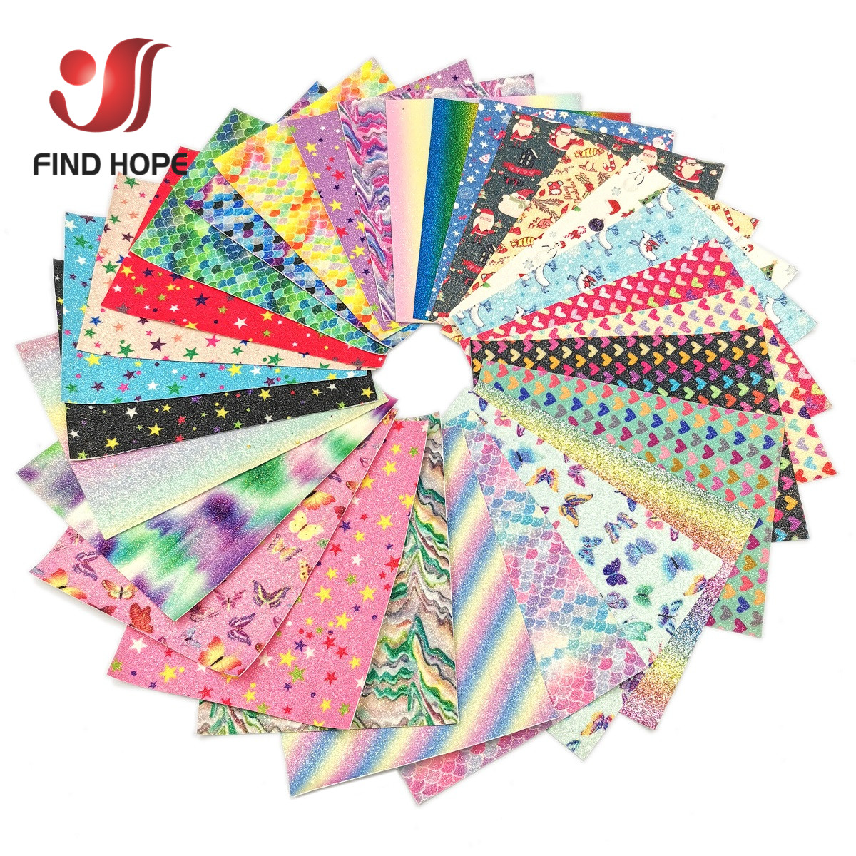 A4 20*30CM Sparkly Fine Glitter Fabric Rainbow iridescent Vinyl PU Faux Leather Sewing Fabric Sheets DIY Handmade Earring Bows