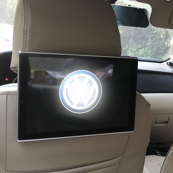 Car With DVD Player On Back Of Seat Android Headrest Monitor For VW Sharan Rear Seat Entertainment TV Screen 11.8 inch