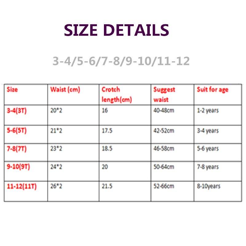 4pcs/Lot Solid Colors Boys Underwear Kids Briefs  Children Pants  Underwear Shorts  1-12Y 6