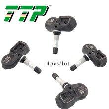 TTP 4 шт. 42607-33021 TPMS датчик давления в автомобильных шинах Система контроля клапанов для Toyota Lexus LS460 LS600hL LX570 RX350 RX4 315 МГц