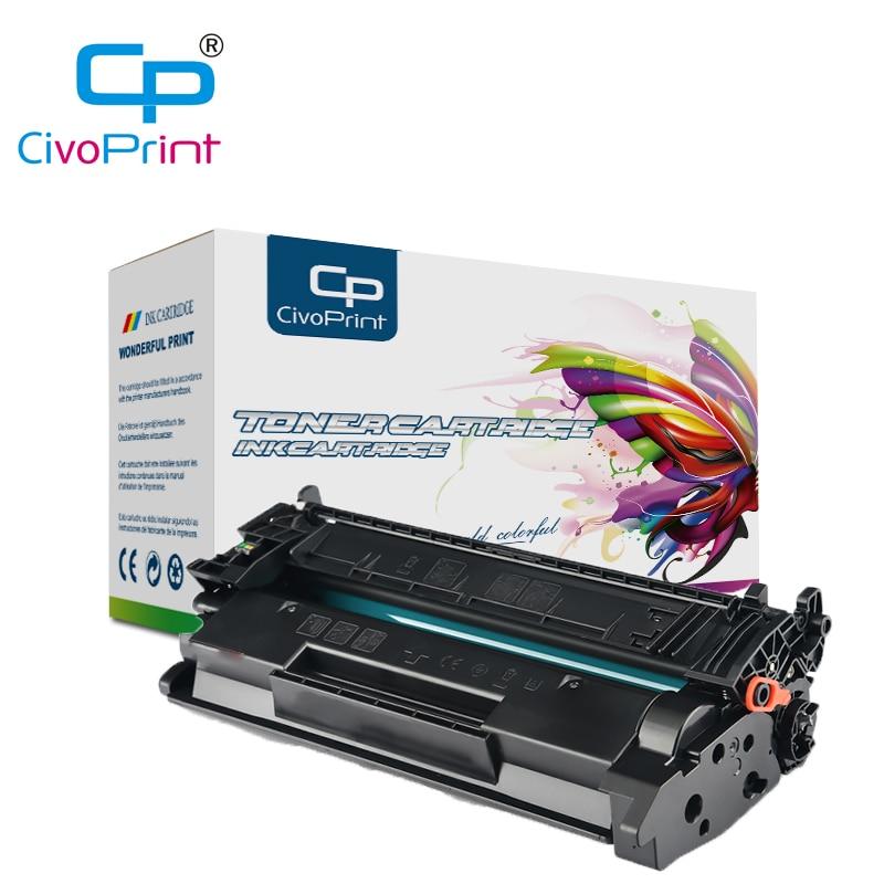 Civoprint Toner Cartridge For HP LaserJet Pro M404n 404dn MFP M428dw M428fdn Black Cartridge CF259A CF259X For Hp59a (NO CHIP)
