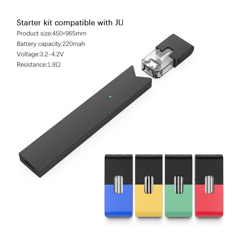 New Style Original JUL Kit Electronic Cigarette With 1.8ml Pod 7.2W 1.8ohm Core 220mah Built-in Vape Kit E Cig Vaporizer