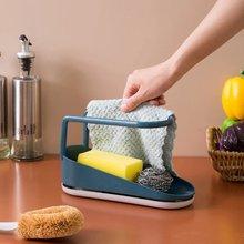 Для мытья посуды губка держатель Полотенца тряпка вешалка над