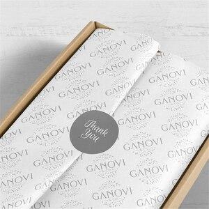 Image 4 - גבוהה סוף 17gsm רקמות נייר עבור בגדים מותאם אישית הדפסת לוגו מתנה/תכשיטים/בגדי גלישת רקמות נייר