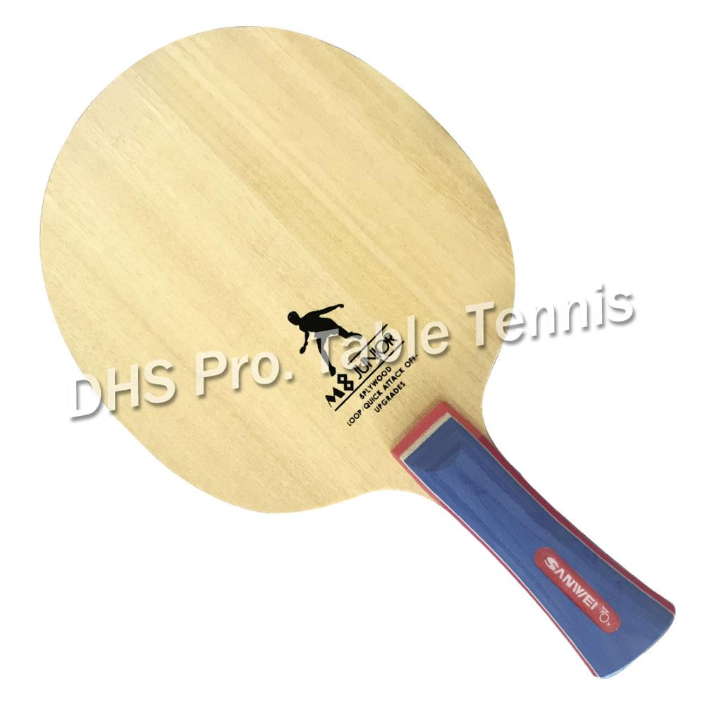 Sanwei M8 Professional 5 Wood Table Tennis Blade For Ping Pong Paddle Table Tennis Racket  Bat