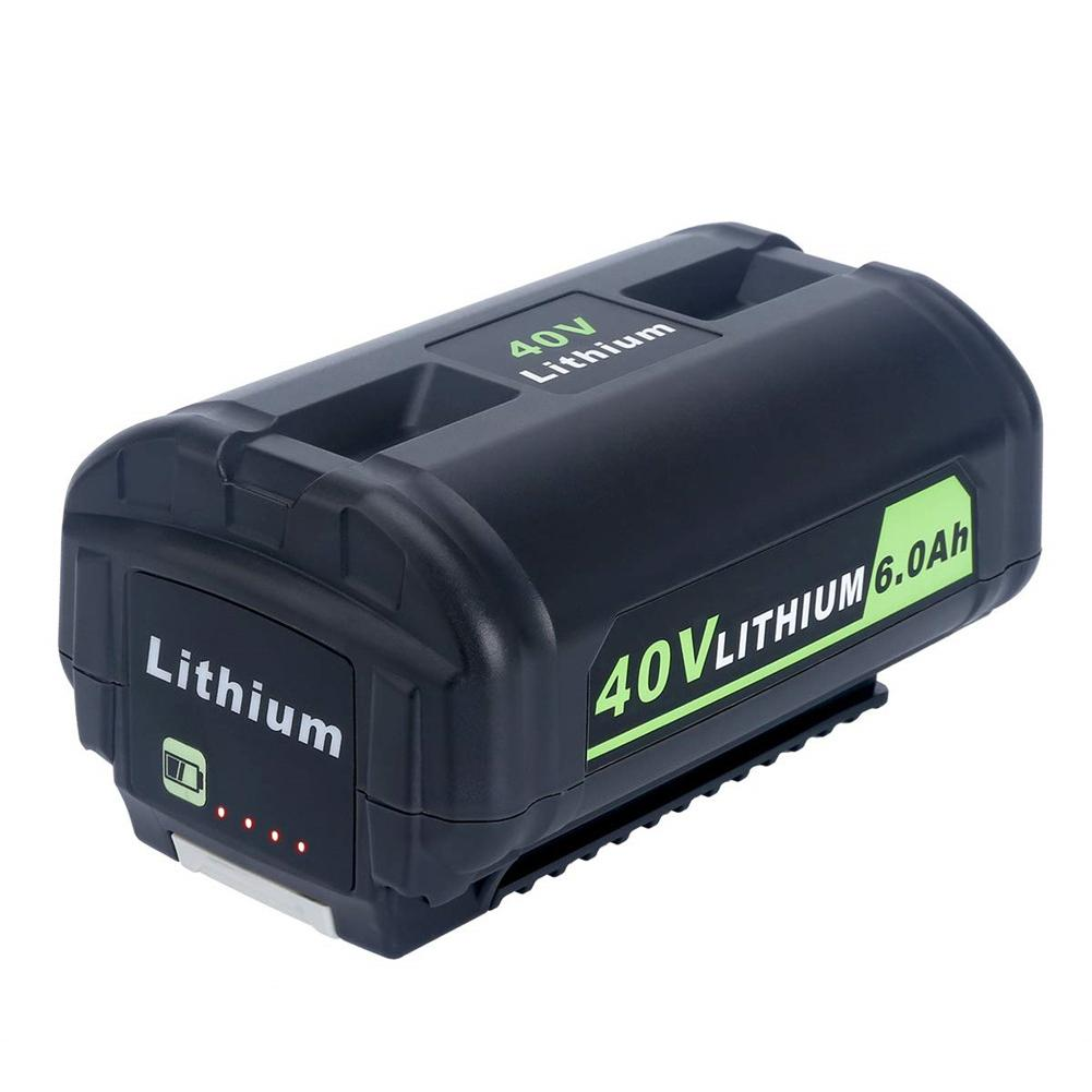 Adapter Lithium Ion Battery OP4050A Replacement For 40-Volt Ryobi Cordless Power Tools Battery 40V 6000mAh Quick Delivery