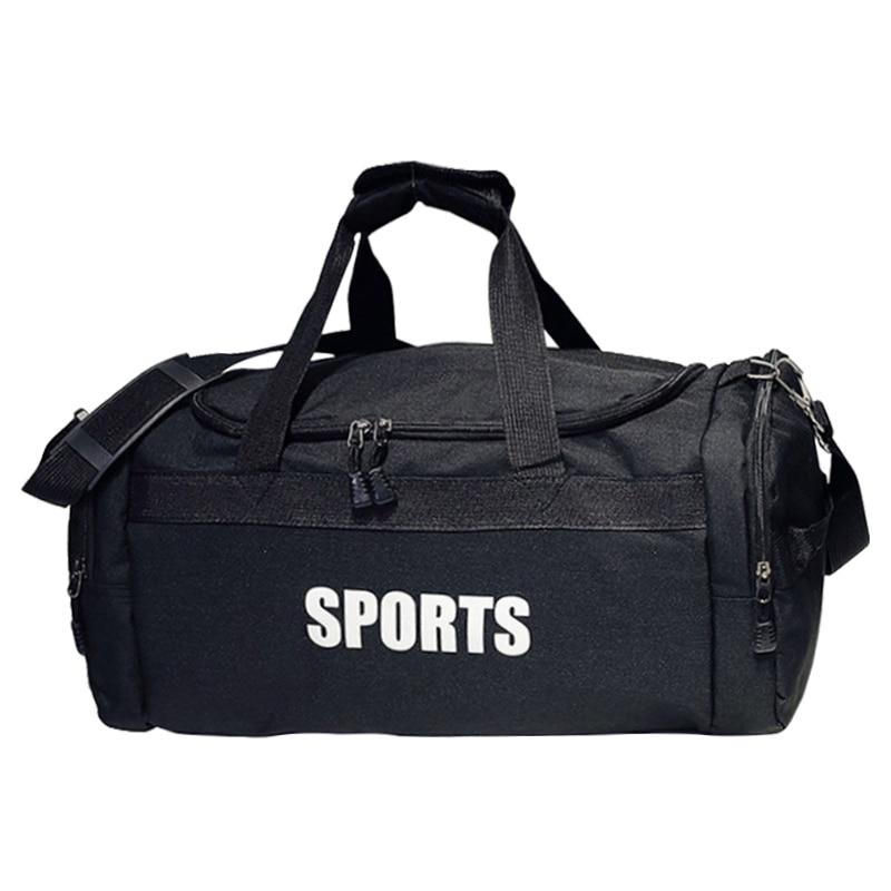 Outdoor Sports Gym Bag Travel Handbag Men Fitness Training Shoulder Handbag Women Yoga Luggage Duffles Crossbody Bags