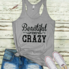 Country Music Festival whisky Summer Sexy Festival Top Crazy Howdy Womens Tank Rodeo Tanks Country Girl Top