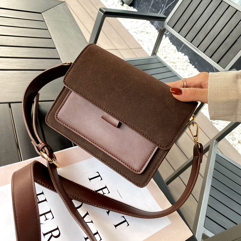 Scrub PU Leather Crossbody Bags For Women 2020 Small Shoulder Messenger Bag Female Winter Travel Handbags And Purses