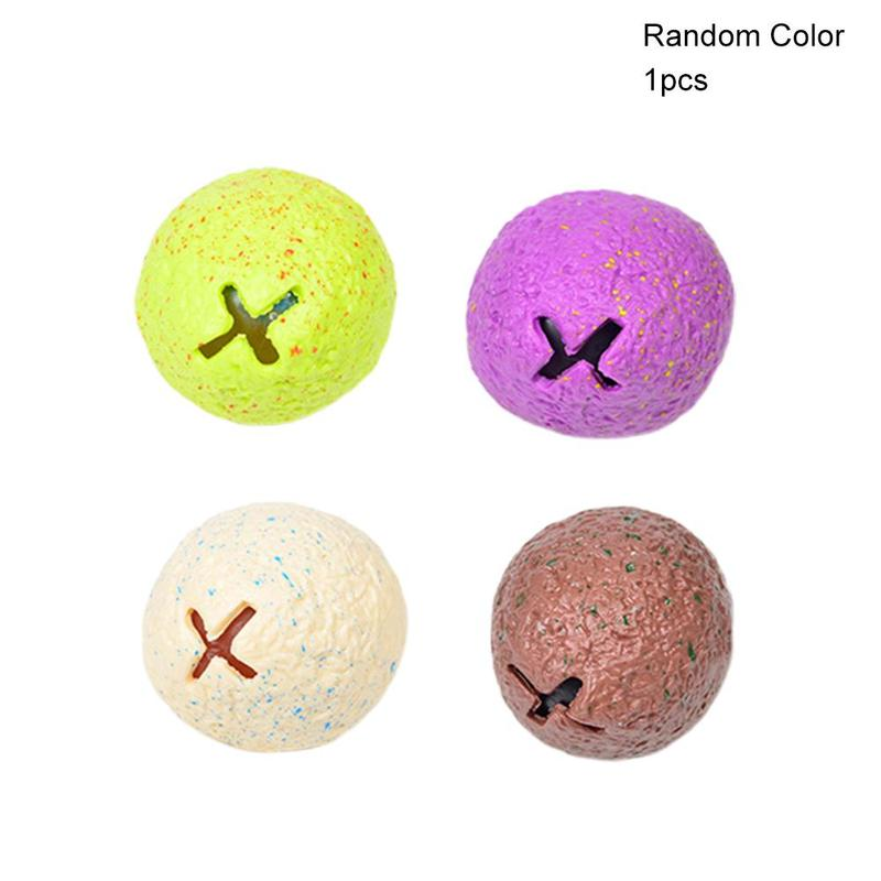 1pc Random Color Squeeze Venting Dinosaur Eggs TPR+Water Ball Venting Ball Autism Mood Squeeze Decompression Novelty Toy