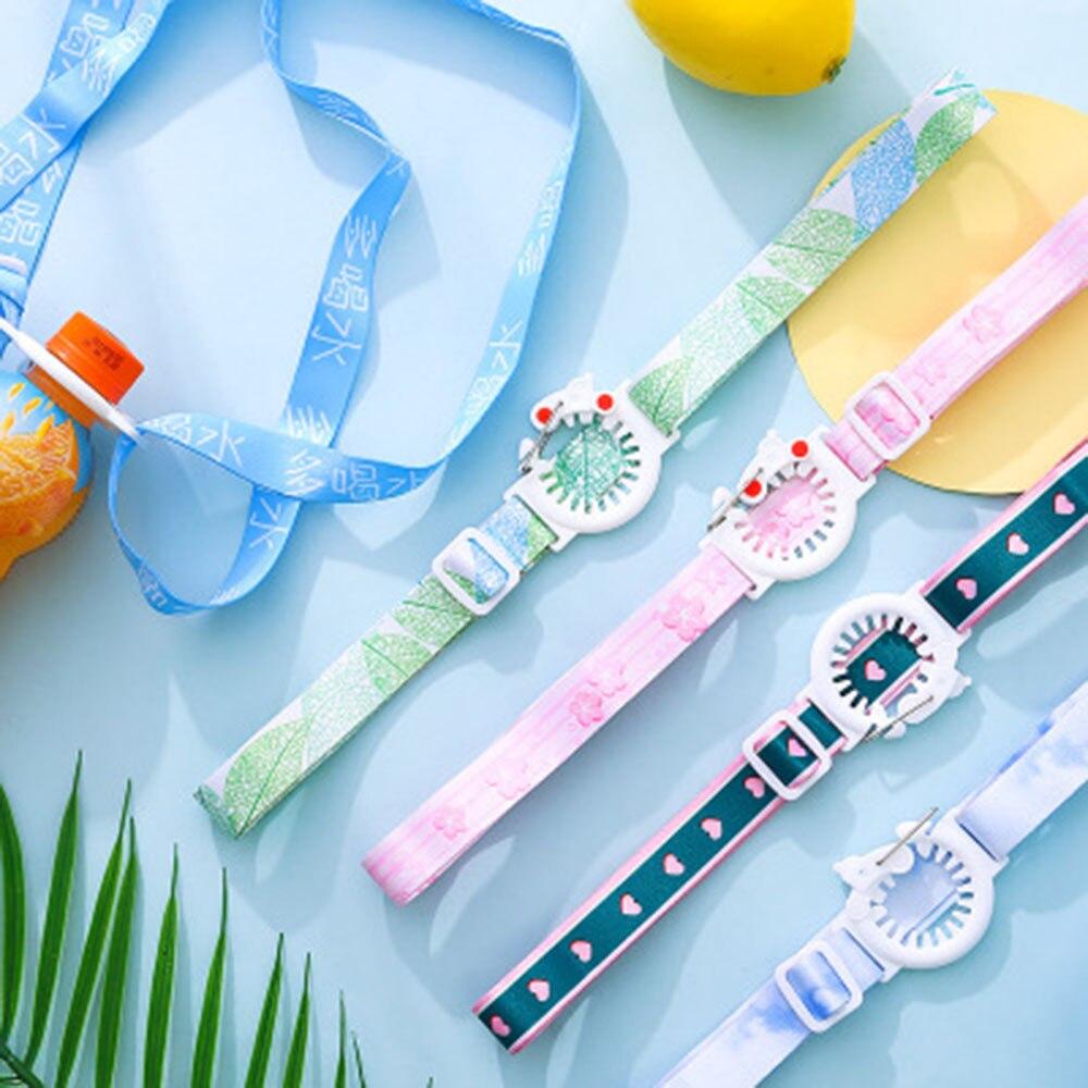 Fashion Water Bottle Strap Plastic Beverage Bottle Buckle Clips Baby Kid Shoulder Belt Lanyard Bottle Buckle Baldric Accessories