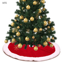 MTL Multiple choices christmas tree skirt carpet xmas decorations base for  decoration