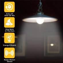 5/7/9/12/W blanc LED E27 capteur intelligent Radar ampoule Auto sensible lumières pour la maison accessoires de cuisine outil livraison directe