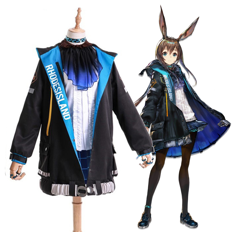 Game Arknights Cosplay Costumes AMIYA Ph Doctor Cosplay Costume Coats Jackets Overcoat Suits Clothes Dresses Uniforms Skirts