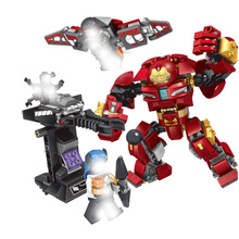 Ironman Hulkbuster Smash-u Building Blocks Compatible With Iron Man 76104  Marvel Super Heroes Avengers Infinity War Toy Gifts