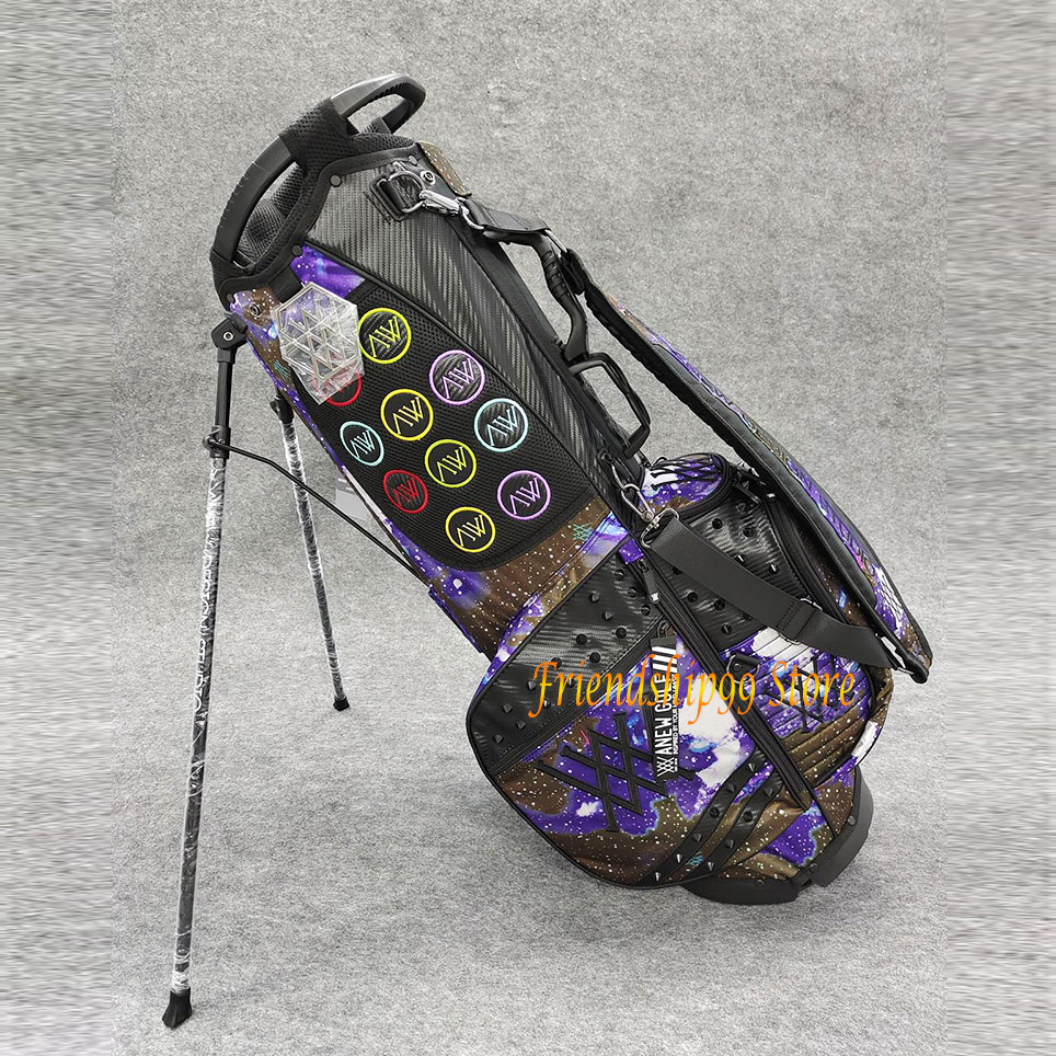 H4a5479bbce7a4d9287385118c767c910G Golf Bags ANEW Golf cart bag Waterproof Big Capacity Packages Multi-Pockets Durable Bag Golf Club Equipments 2 Color
