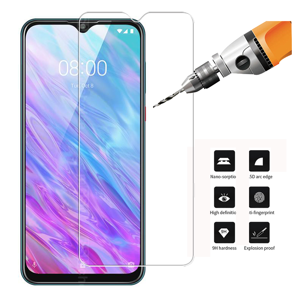 Tempered Glass Screen Protector For ZTE BLADE 20 Smart 2019 9H 2.5D Phone Protective Glass For ZTE BLADE 20 Smart 2