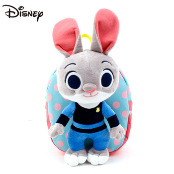 Disney childrens anti-lost backpack baby kindergarten 1-3 year old boys and girls cute small school bag
