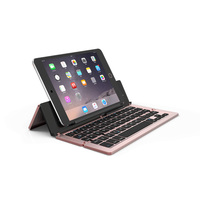 Universal Aluminum Alloy Wireless Bluetooth Keyboard for iPad iPhone Samsung Nokia IOS Windows Android System Tablet PC Phone