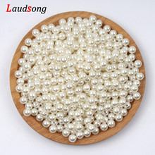 1000pcs Various Size Beige Pearl Beads Round Spacer Loose Beads For Jewelry Making Diy Necklace Bracelet Charm Jewelry Finding