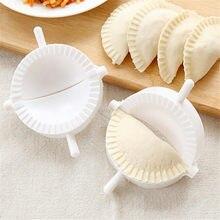 3 sztuk kuchnia 7CM kluski formy plastikowe ciasto naciśnij pierogarnia Pie Ravioli mold gotowanie ciasto chińskie jedzenie Jiaozi Maker