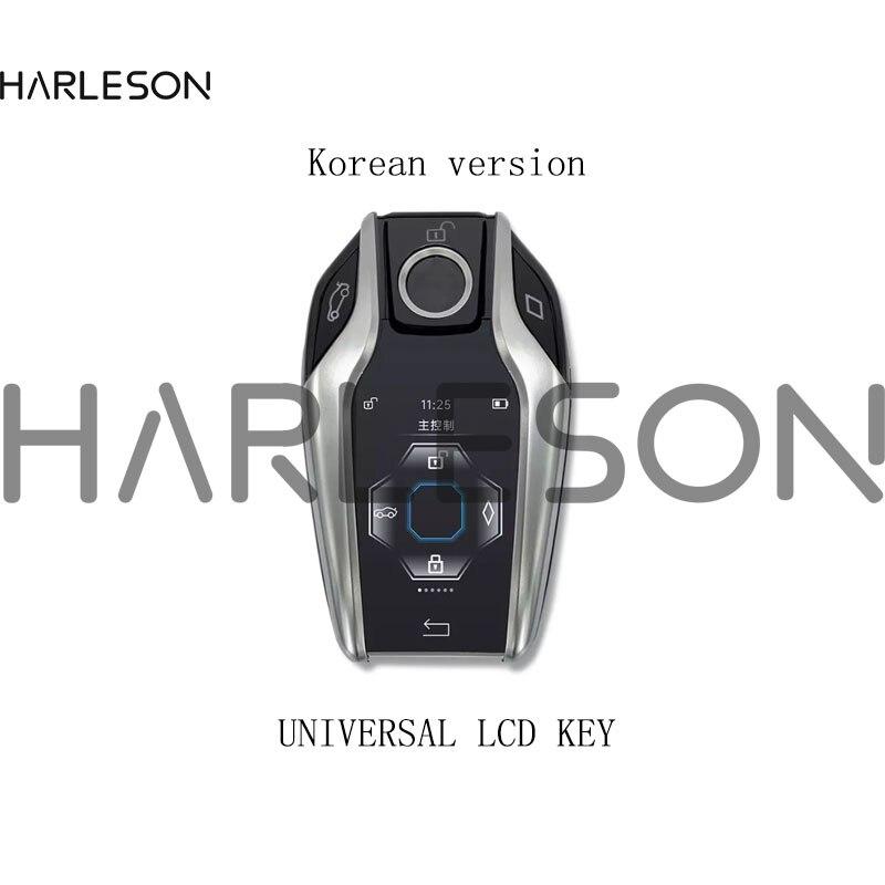 Корейский модифицированный универсальный смарт-ключ для автомобиля с ЖК-дисплеем для BMW Benz Audi Toyota Honda Cadillac Lexus KIA Ford Hyundai Renault